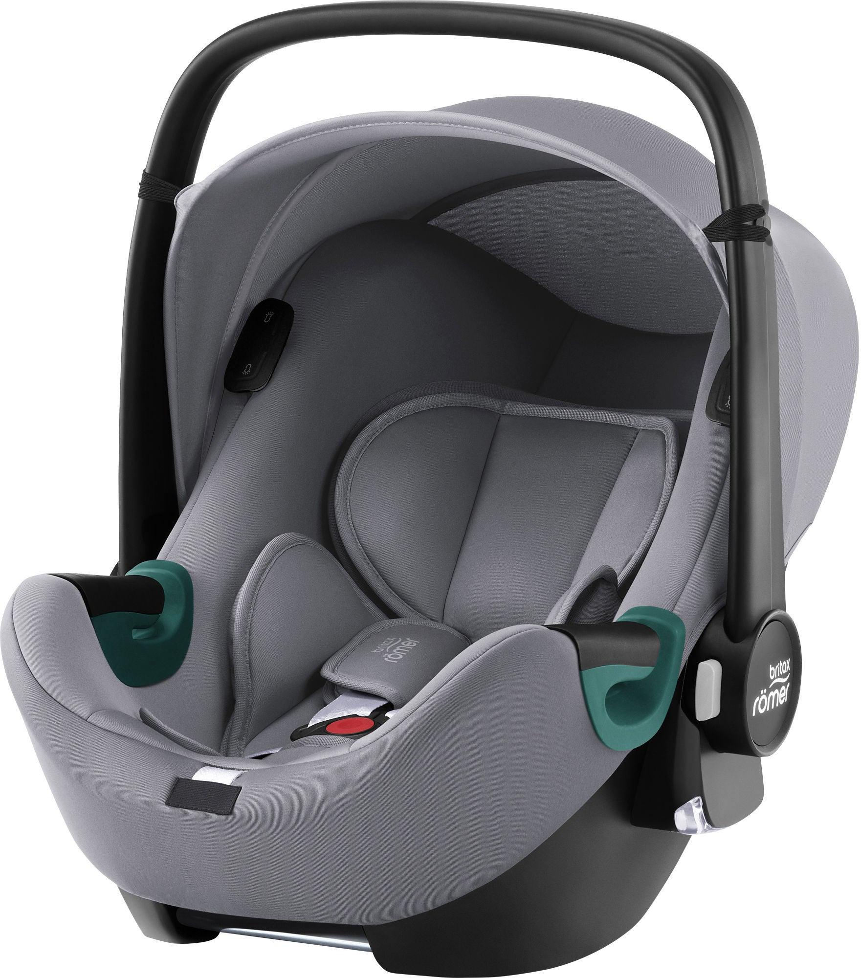 Britax Römer BABY-SAFE iSENSE BR Babyskydd, Frost Grey
