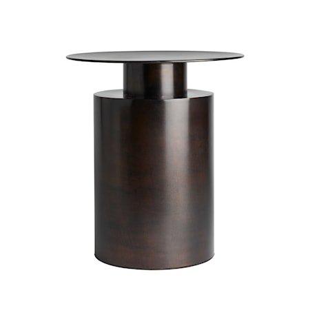 Pillar Sofabord Høy Brun