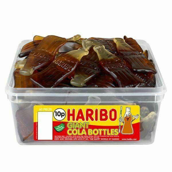 Haribo Giant Cola Bottles 816g