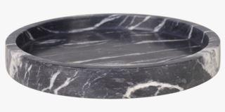 Marble kynttilävati musta