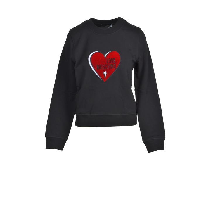Love Moschino Women's Sweatshirts Black 322228 - black 40