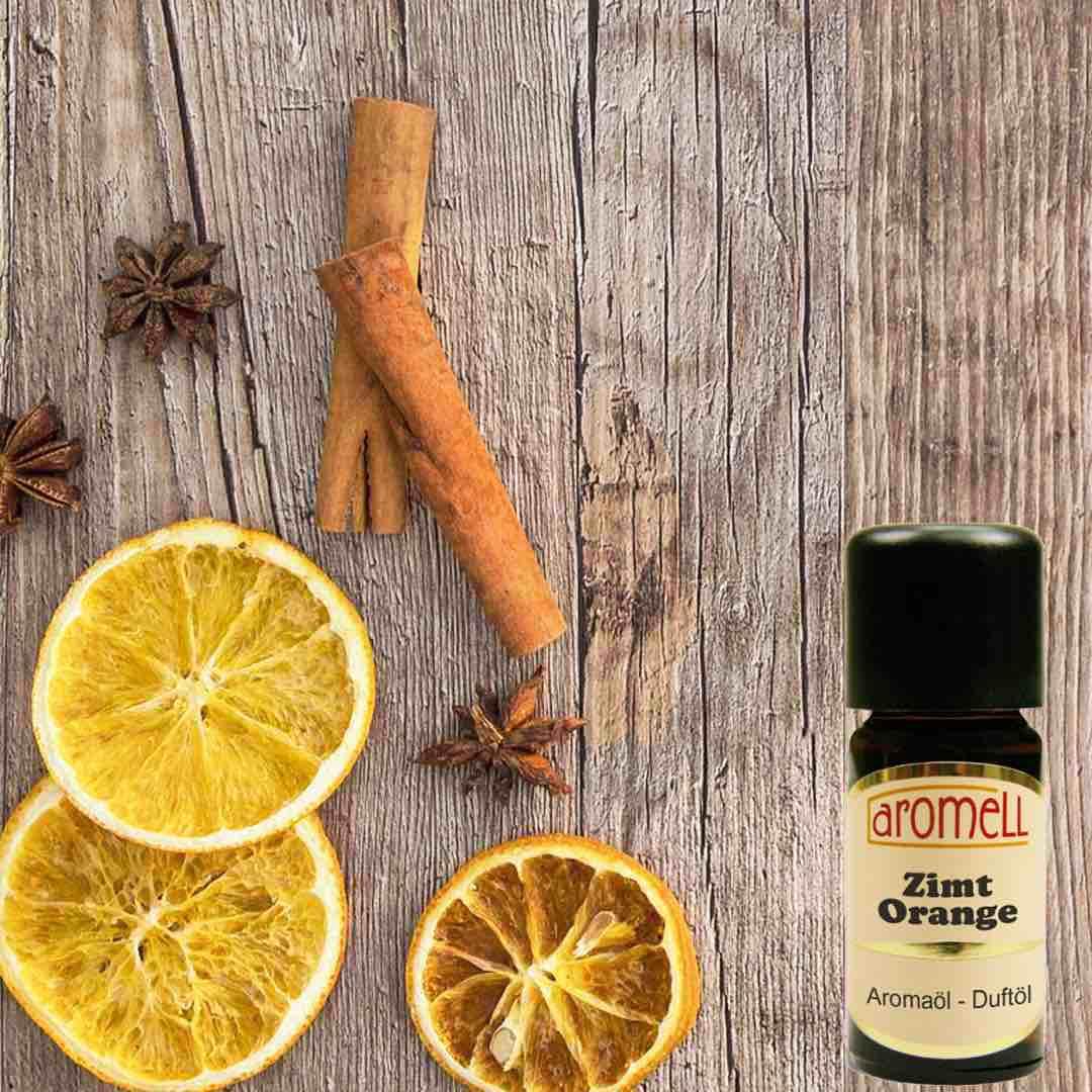Kanel och Apelsin Doftolja 10ml - Aromell