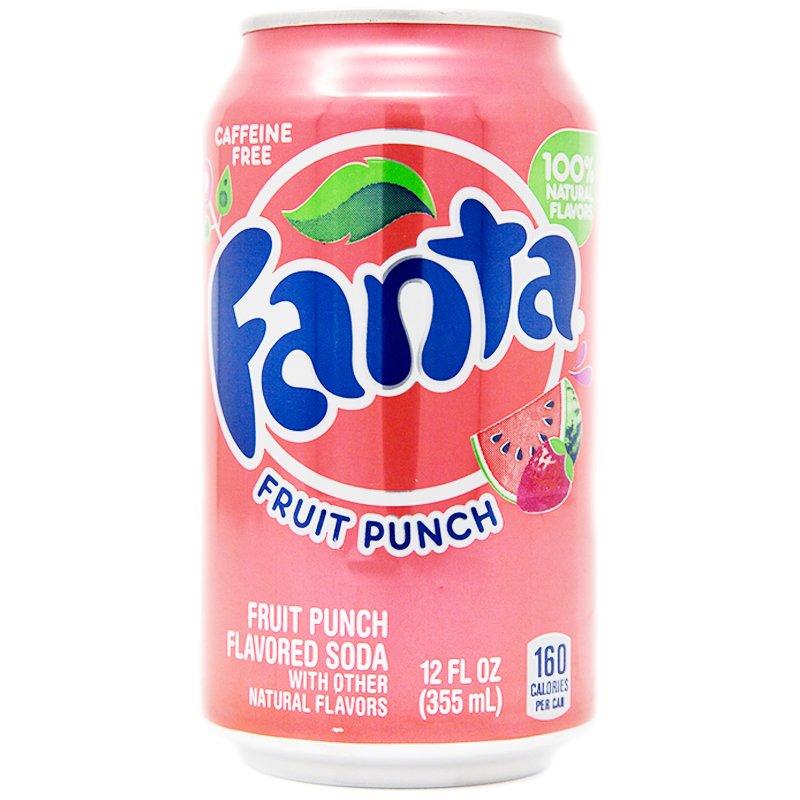"""Fanta """"Fruit Punch"""" 355ml - 25% rabatt"""