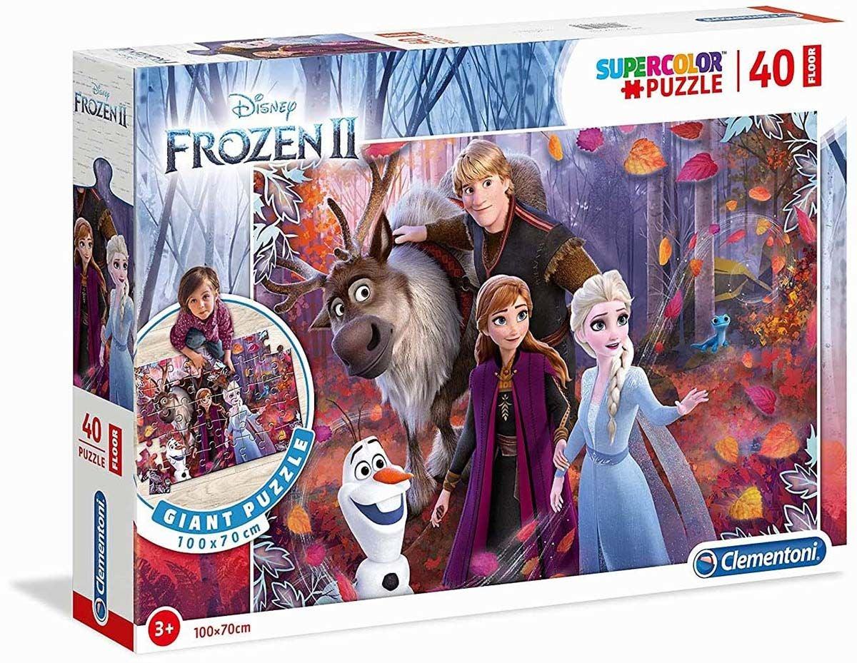 Disney Frozen 2 Golvpussel 40 Bitar