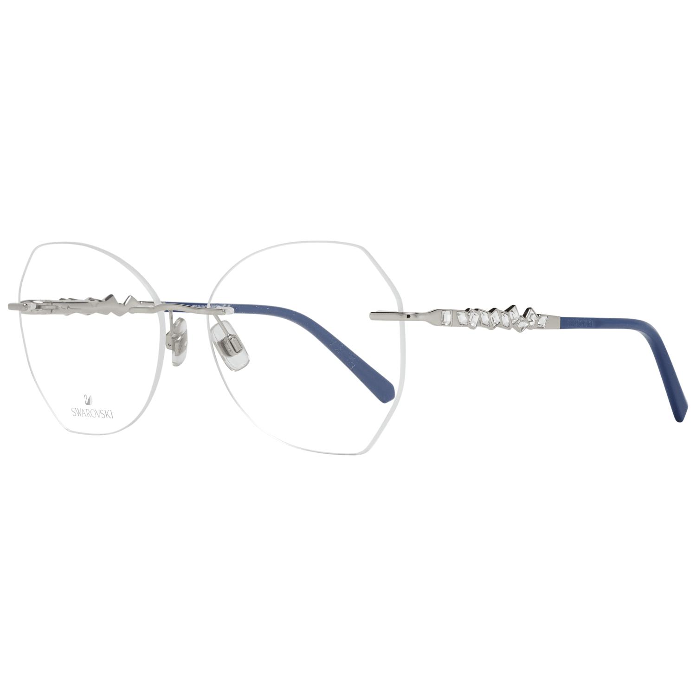 Swarovski Women's Optical Frames Eyewear Silver SK5345 56016