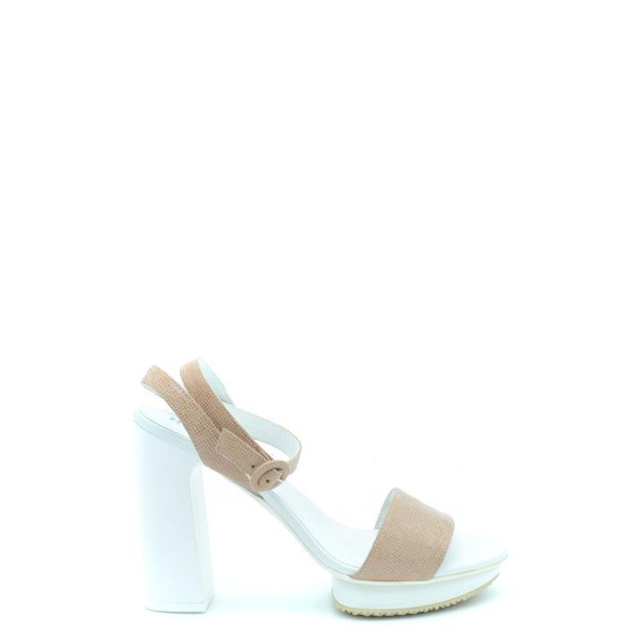 Hogan Women's Sandal Beige 164968 - beige 39