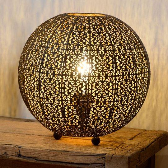 Bordlampe Tahar i orientalsk utforming, 34 cm