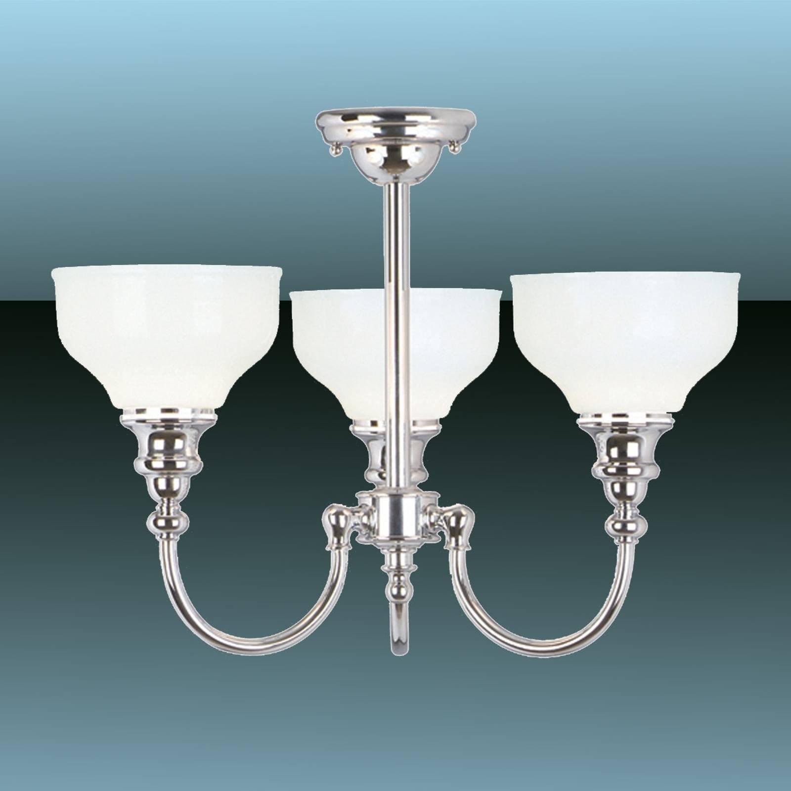 Cheadle taklampe for baderom med tre lys