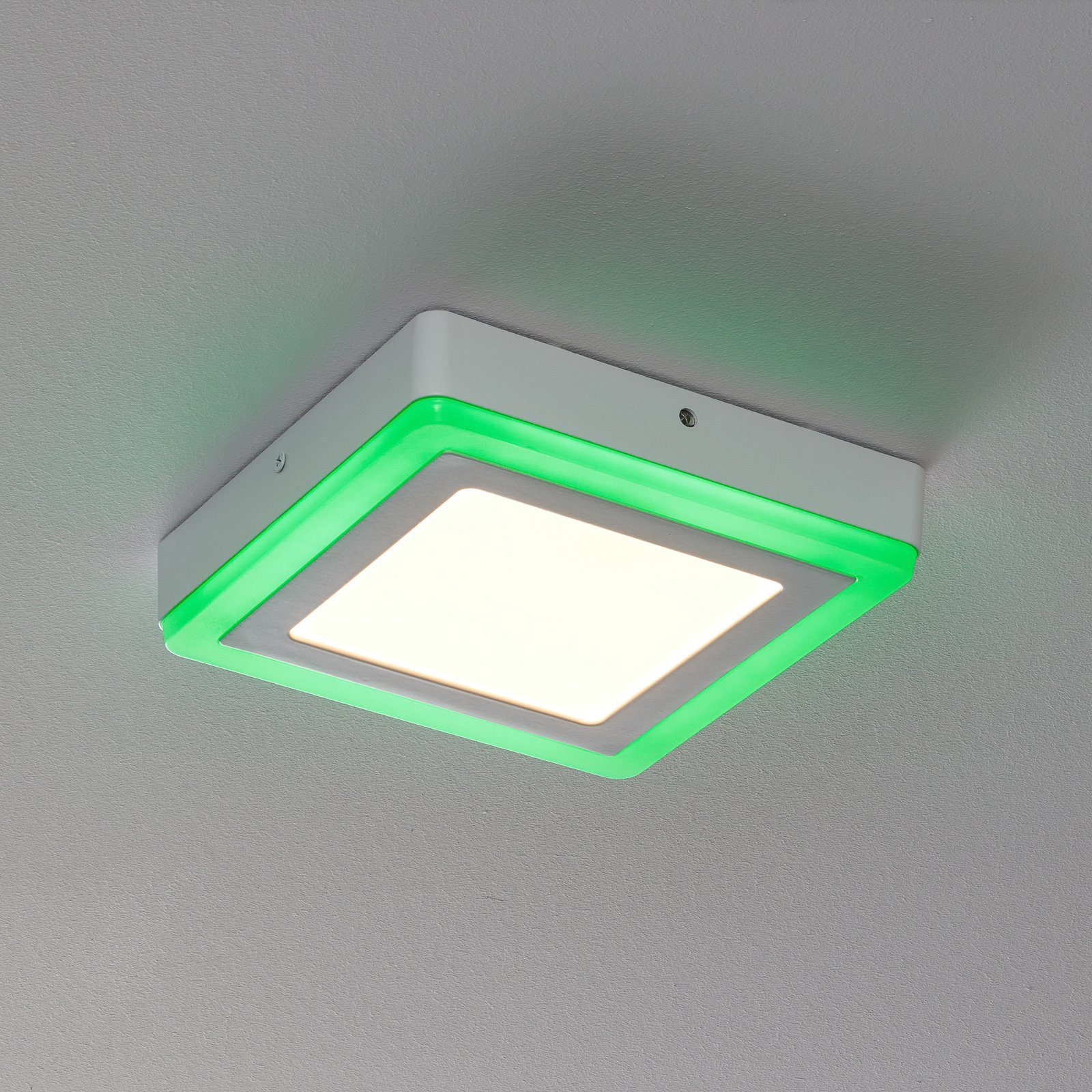 LEDVANCE LED Color+white square vegglampe 20cm