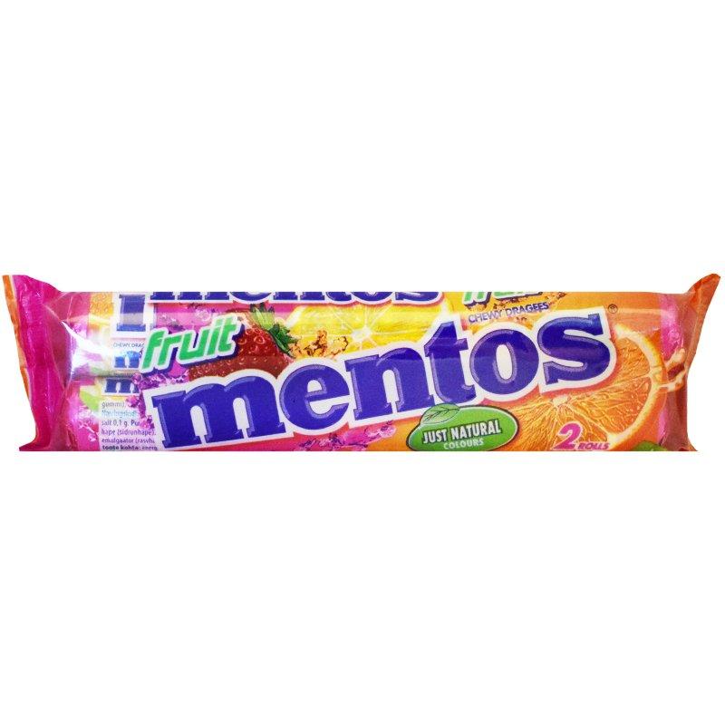 Mentos Frukt 2-pack - 33% rabatt