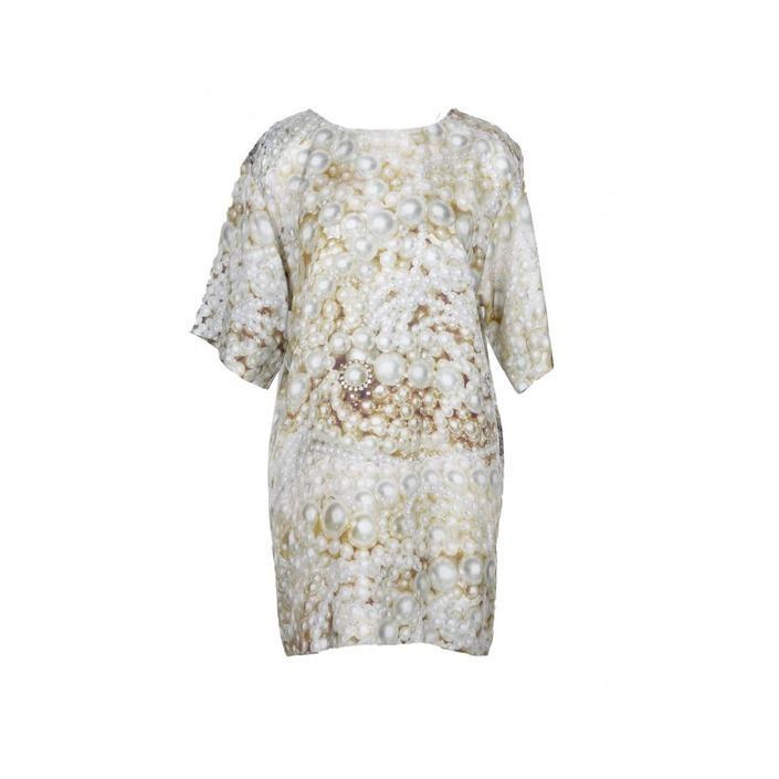 Boutique Moschino Women's Dress Beige 171614 - beige 38