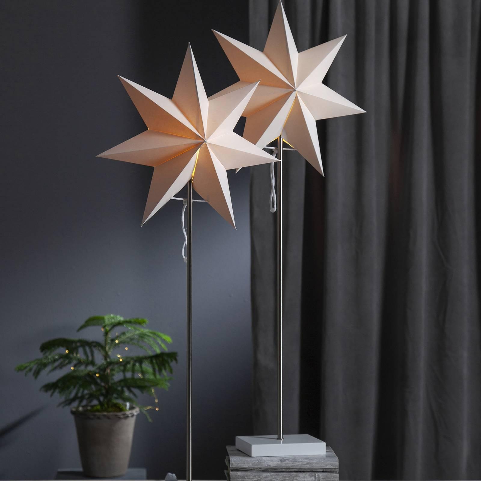 Moa-koristevalo, tähti + varjostin, tammijalka