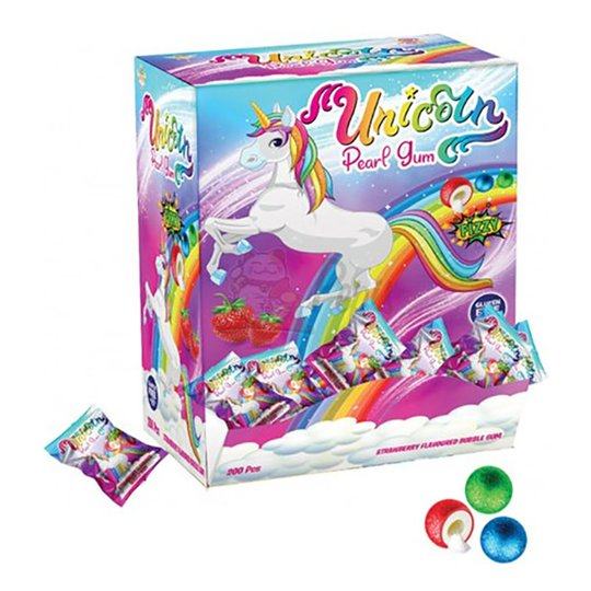 Unicorn Pearl Gum Storpack