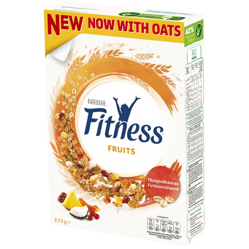"Hiutaleita ""Fruits"" 375g - 33% alennus"