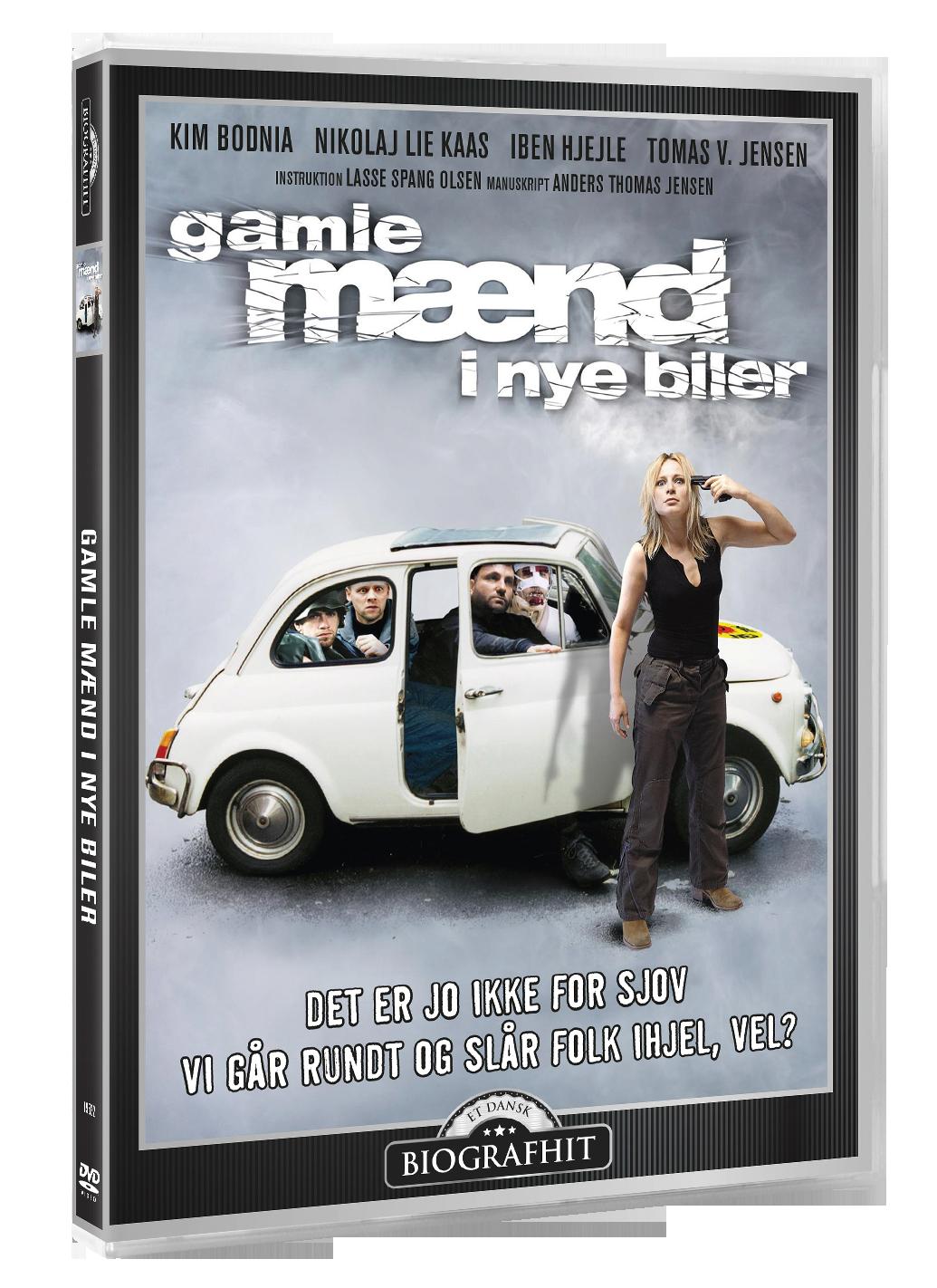 Old men in new cars/Gamle Mænd i Nye Biler - DVD