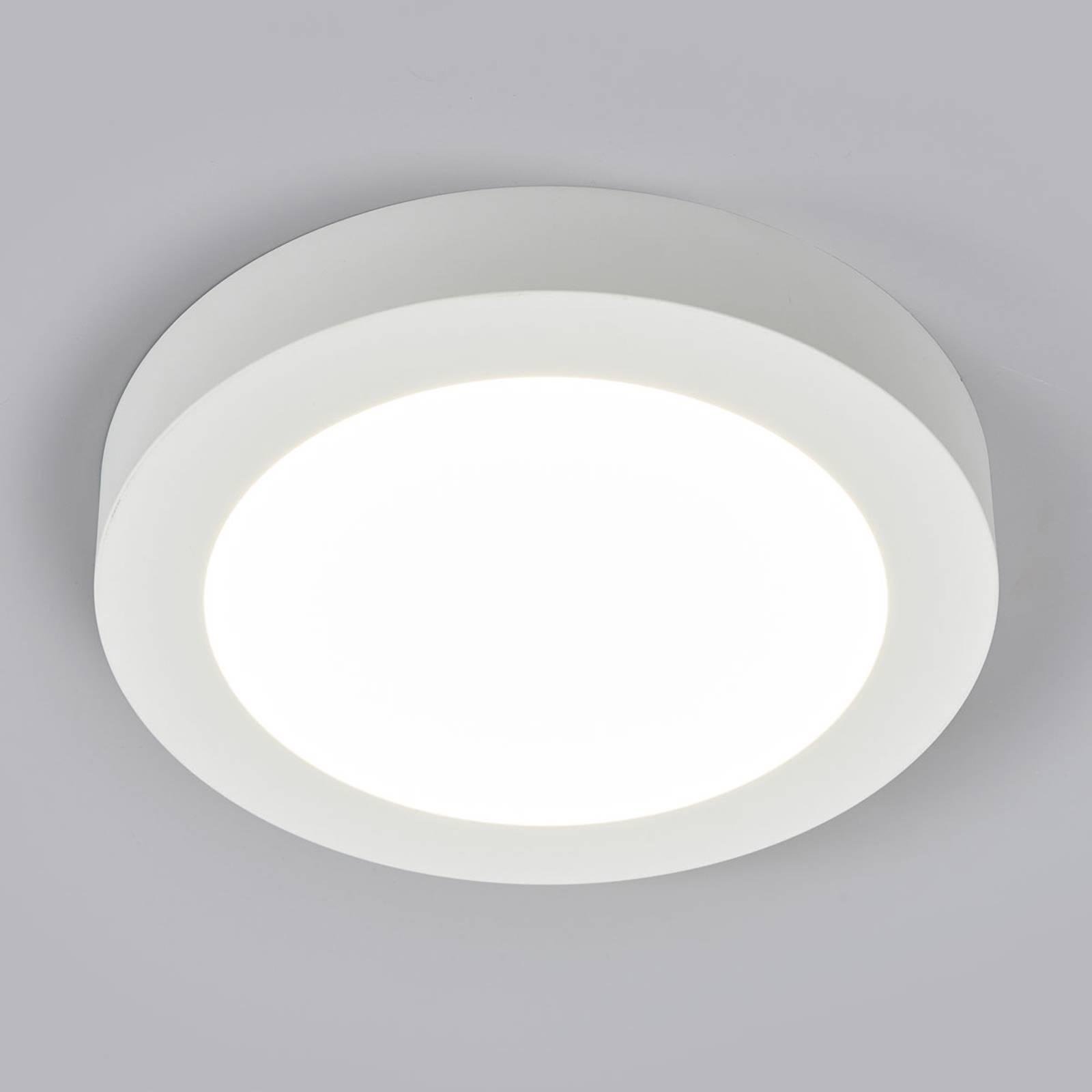 LED-kattovalo Marlo valkoinen 4000K pyöreä 25,2cm