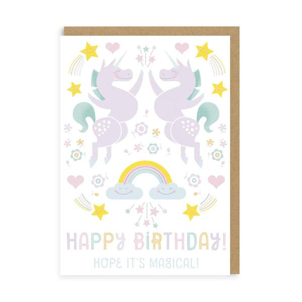 Hope It's Magical Birthday Greeting Card