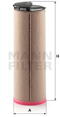 Toisioilmasuodatin MANN-FILTER CF 810