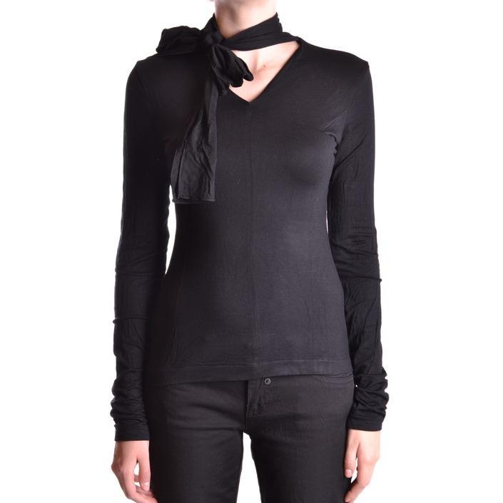 Frankie Morello Women's Sweater Black 167618 - black XS