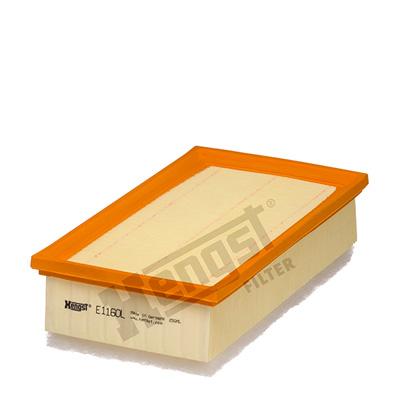 Ilmansuodatin HENGST FILTER E1160L