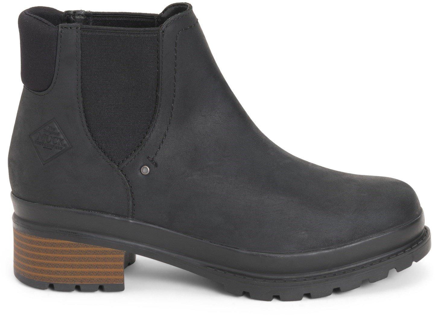 Muck Boots Women's Liberty Chelsea Boot Various Colours 31762 - Black 8
