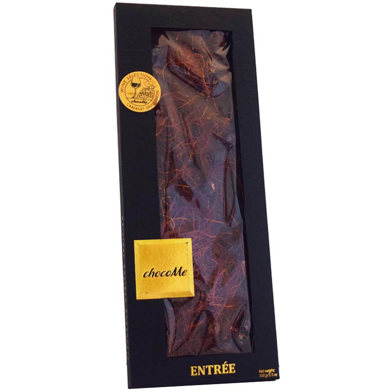Mörk Choklad Svarta Vinbär, Chili & Tranbär 100g - 71% rabatt