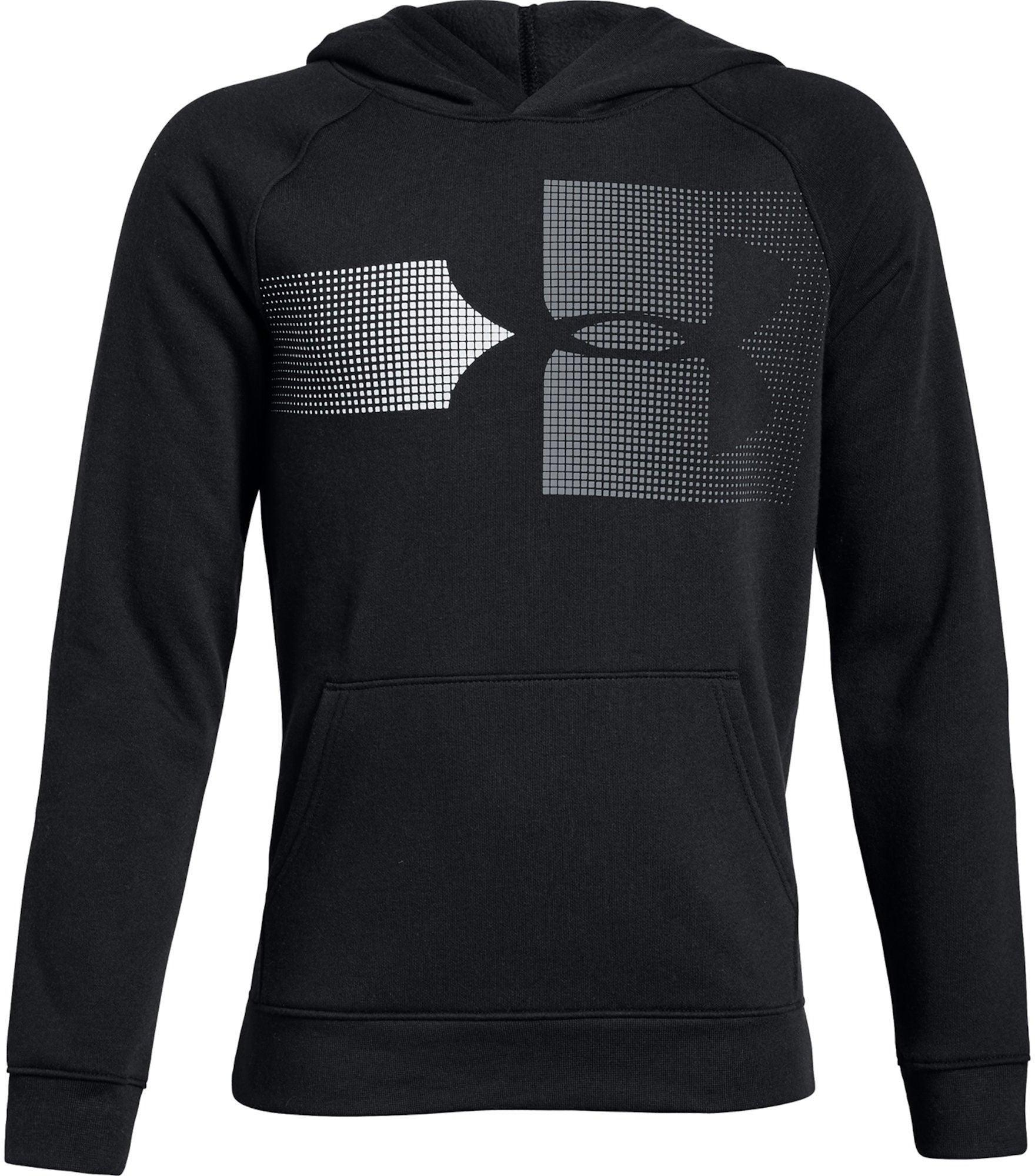 Under Armour Rival Logo Huvtröja, Black XS