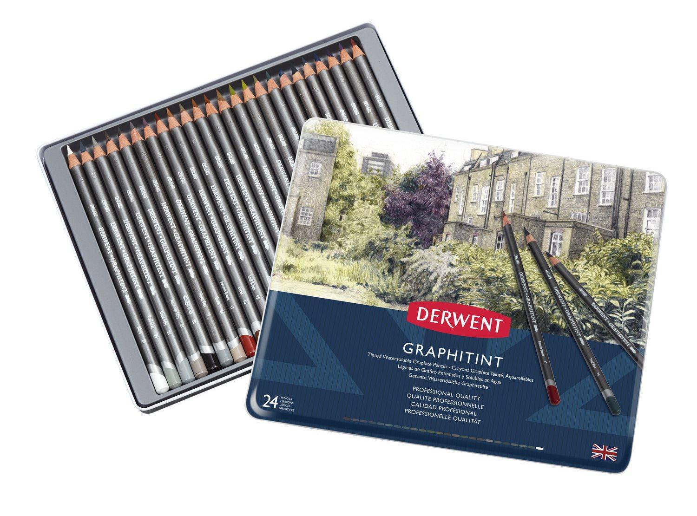 Derwent - Graphitint Pencil, 24 Tin