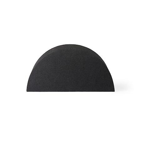 Semicircle Lampeskjerm S Black jute