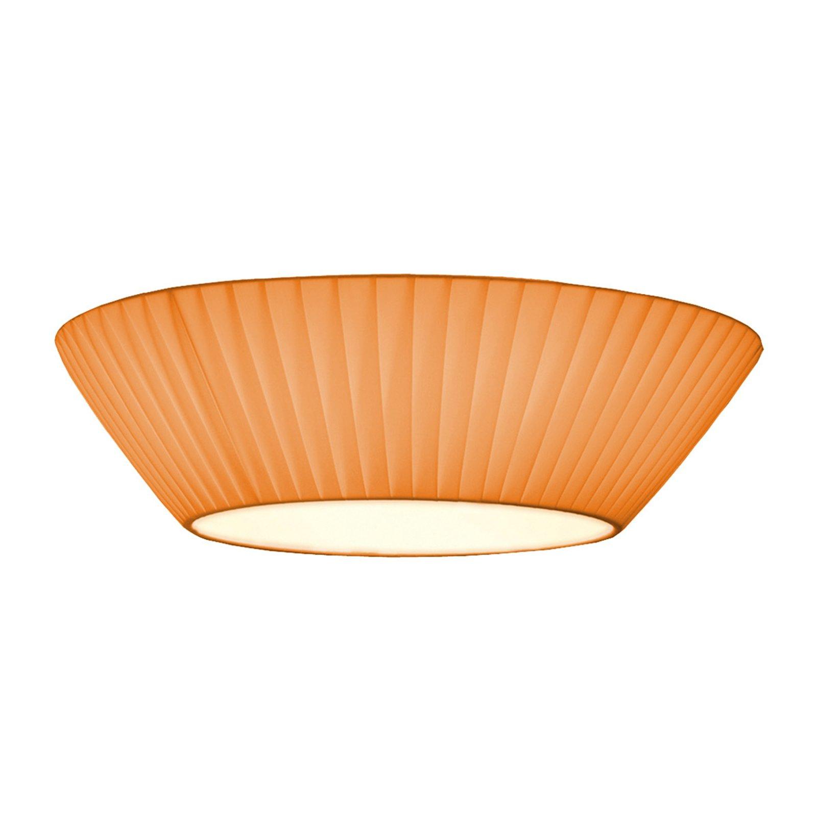 Enkel Emma taklampe i oransje Ø 50 cm