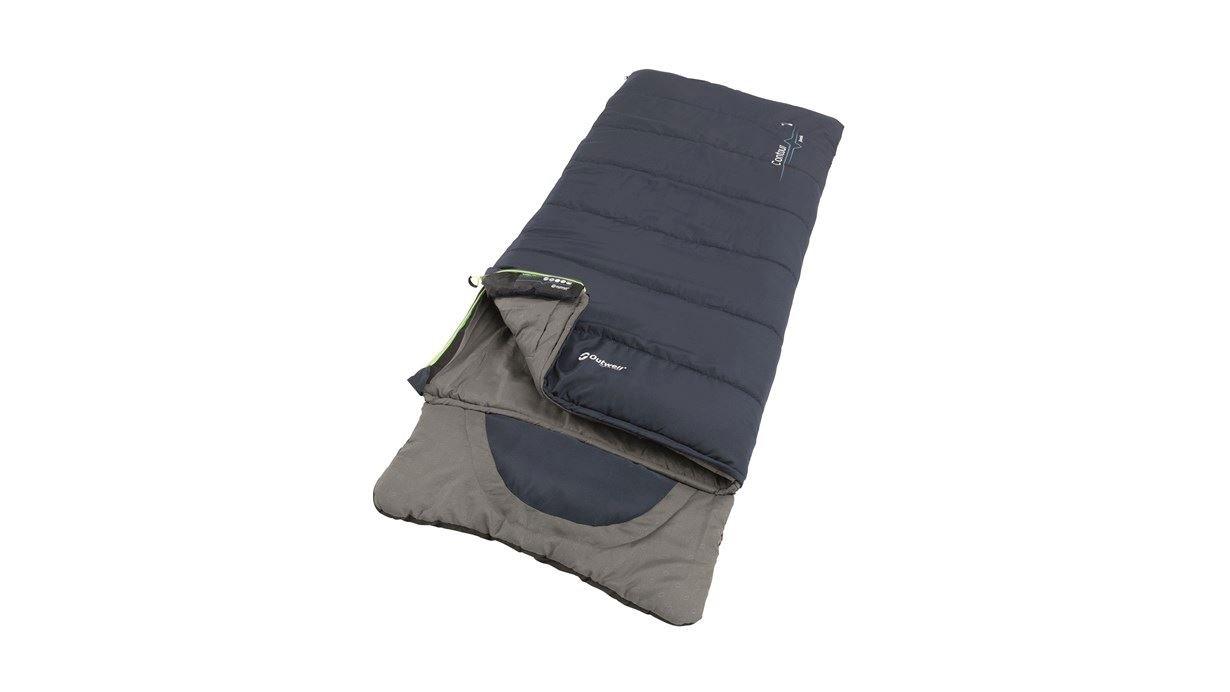 Outwell - Contour Junior Sleeping Bag 2021 - Deep Blue (230378)