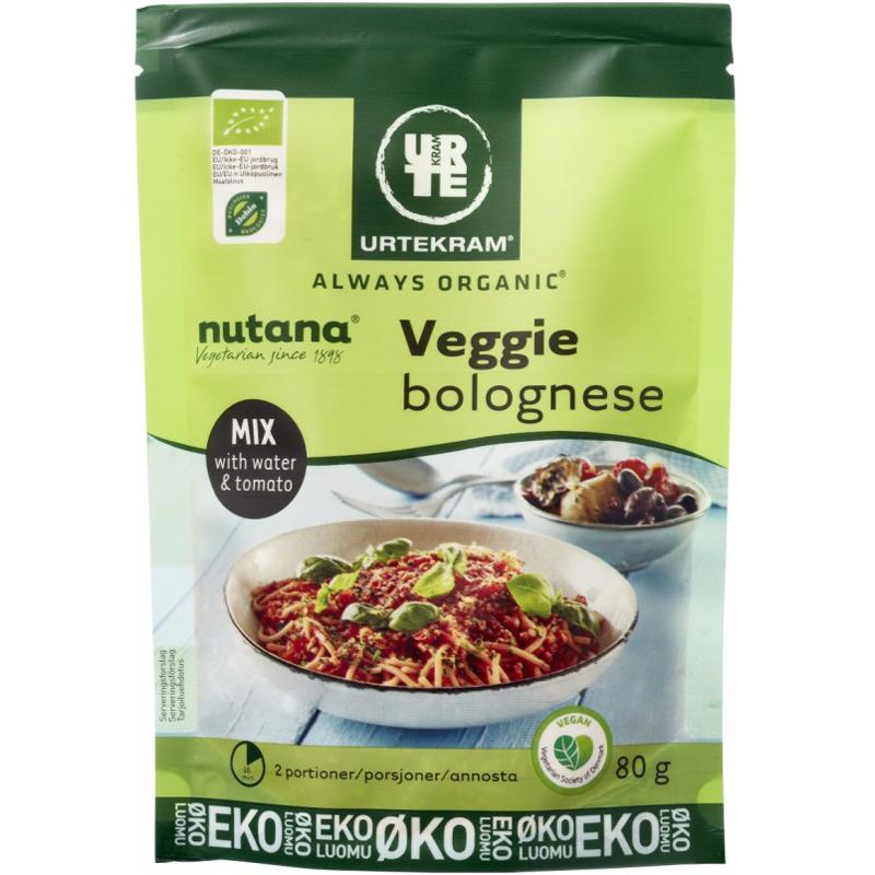 Luomu Kastikeaines Veggie Bolognese 80g - 52% alennus