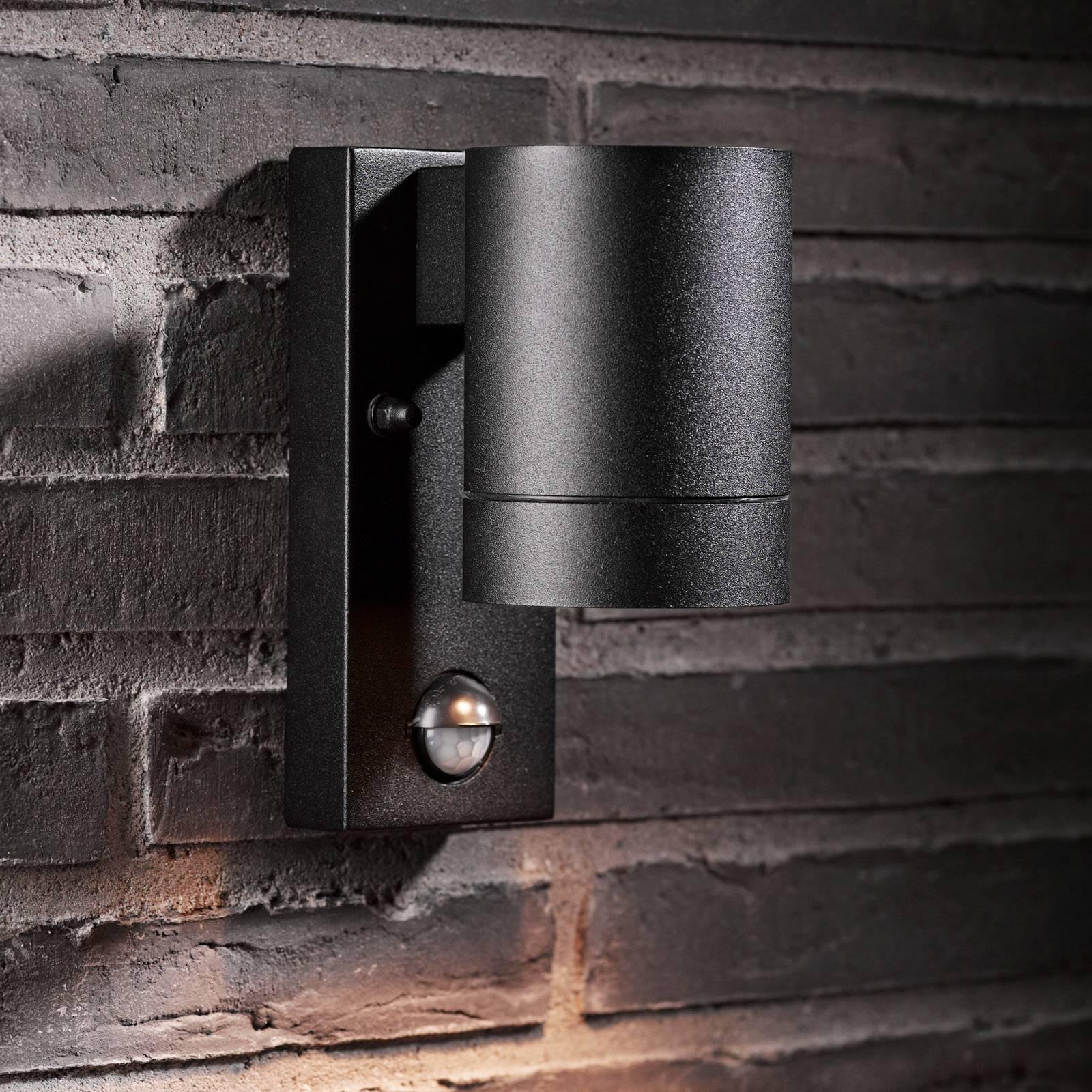 Ulkoseinävalaisin Tin Maxi Sensor, musta