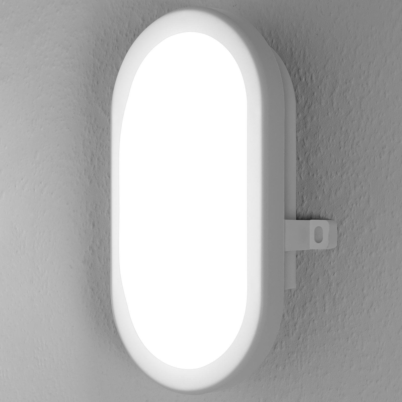 LEDVANCE Bulkhead utendørs LED-vegglampe 11W hvit