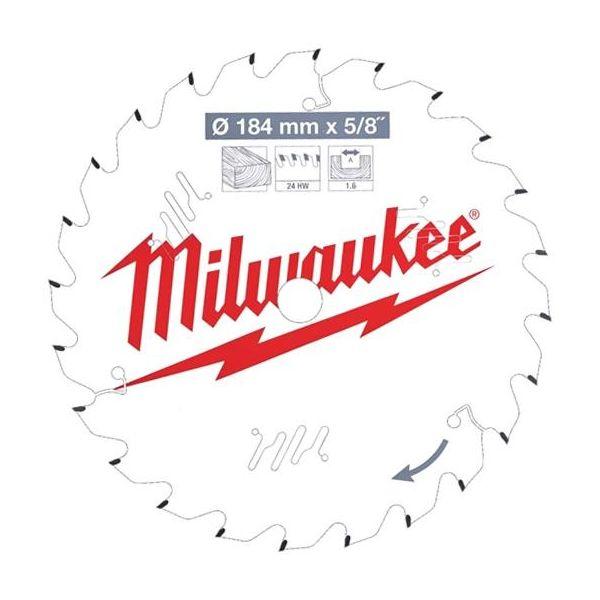 Milwaukee CSB P W Sahanterä 184x1,6x15,87 mm, 24T