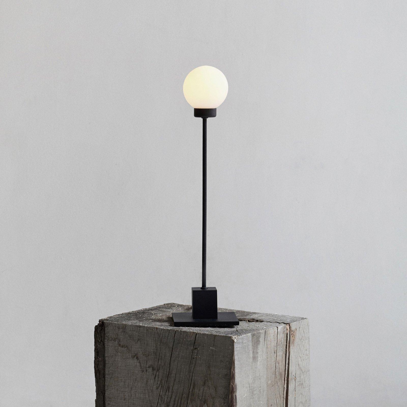 Northern Snowball bordlampe, svart