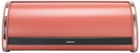 Roll Top Brødboks stor Terracotta Pink