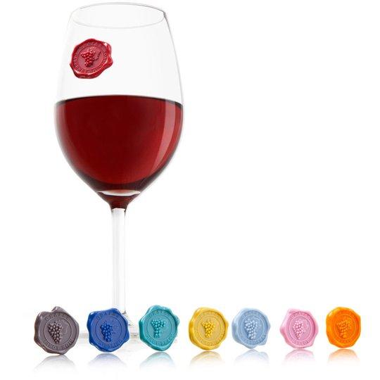 Vacu Vin Glasmarkörer Classic Grapes