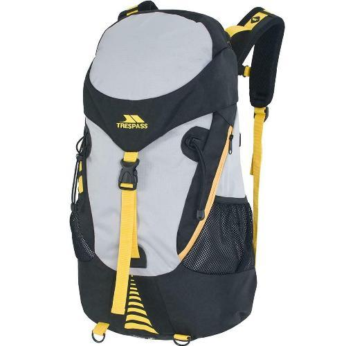 Trespass Unisex Inverary Travel Hiking Backpack Various Colours Inverary - Black 45 Litre