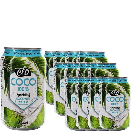 Hiilihapollinen Kookosvesi 12kpl - 33% alennus