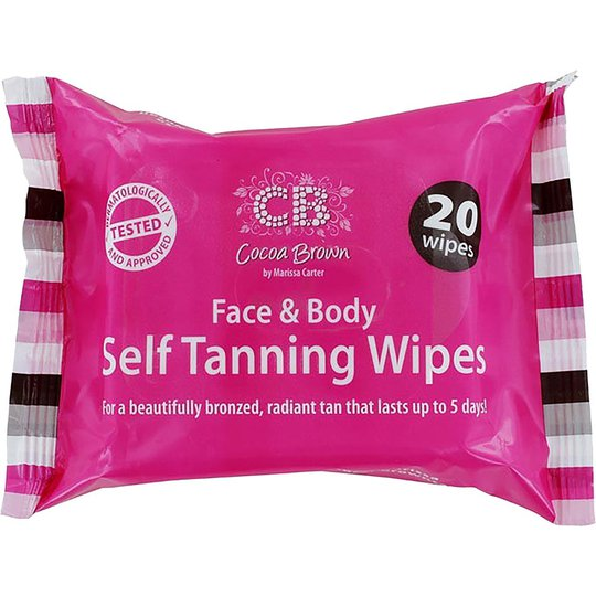 Cocoa Brown Self Tanning Wipes, Cocoa Brown Itseruskettavat