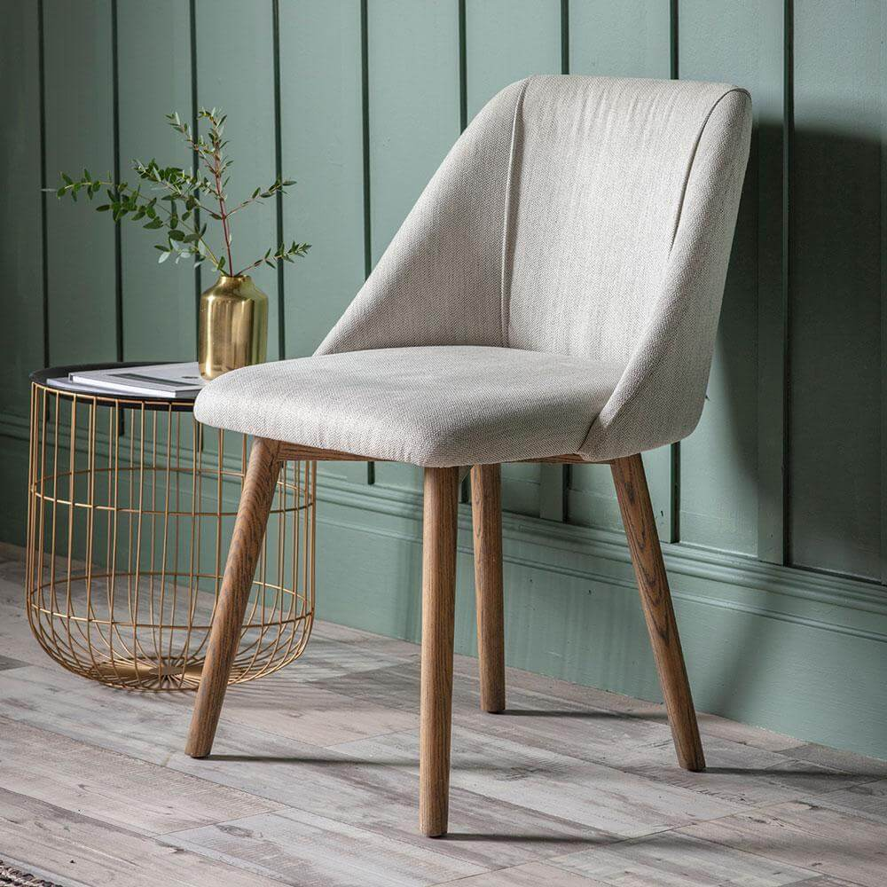 The Ash Dining Chair in Neutral (2pk)