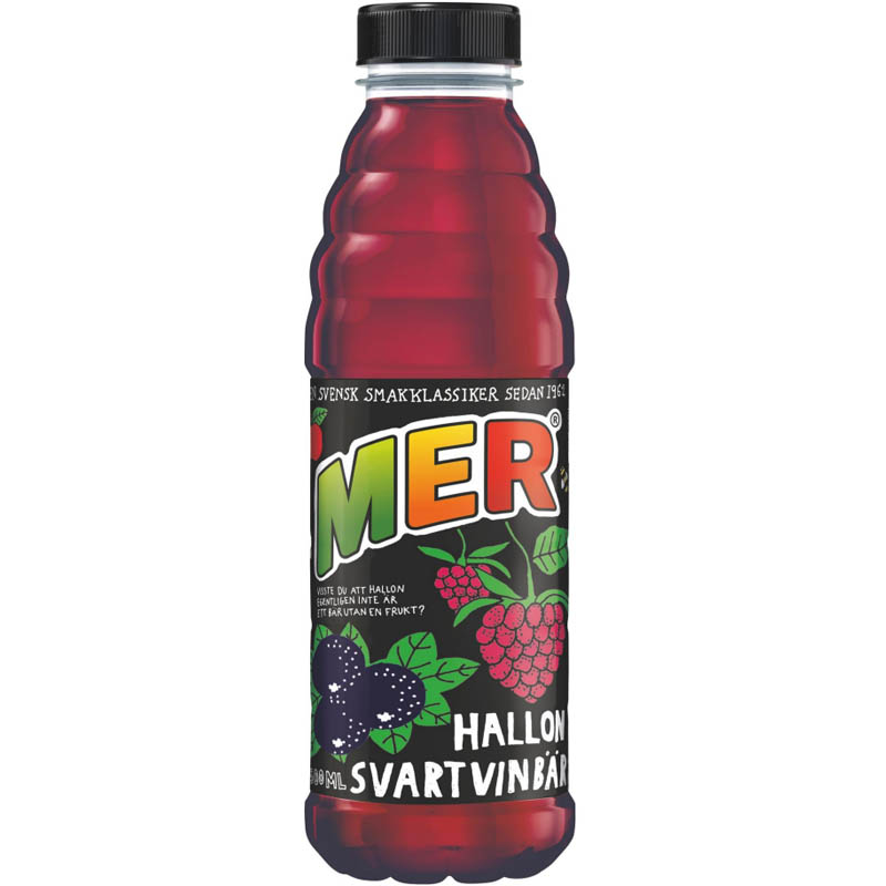 Bärdryck Hallon & Svartvinbär 500ml - 28% rabatt