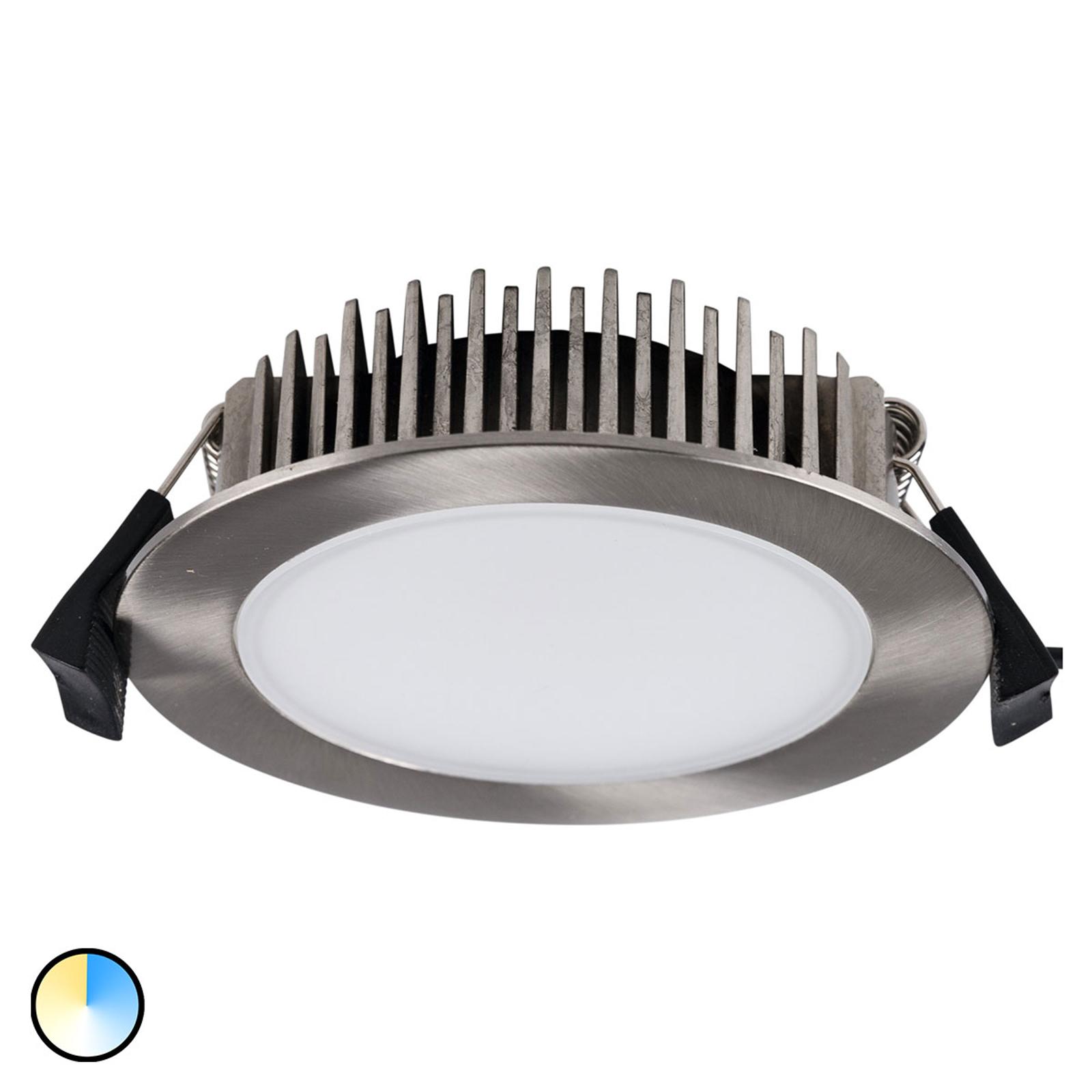 LED-uppokohdevalaisin Lino 3000K-5700K 13W nikkeli
