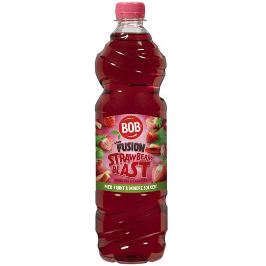 "Saft ""Strawberry Blast"" 85cl - 35% rabatt"