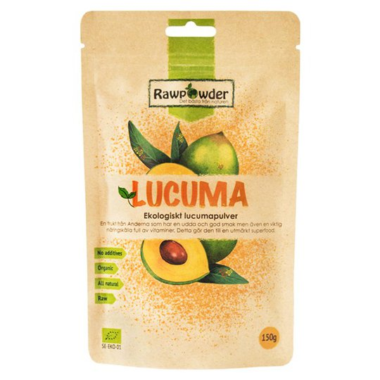 Rawpowder Ekologiskt Lucumapulver, 150 g