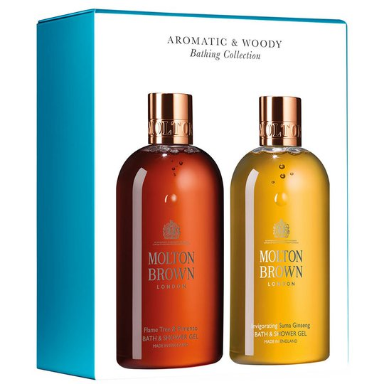Aromatic & Woody Bathing Collection, 300 ml Molton Brown Kylpy & Suihku