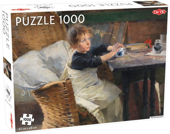 Tactic Puslespill Schjerfbeck The Convalescent 1000 Deler