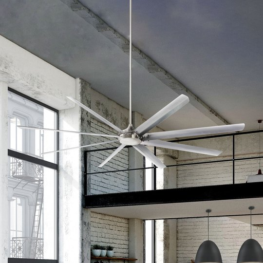 Westinghouse Widespan -kattotuuletin, nikkeli