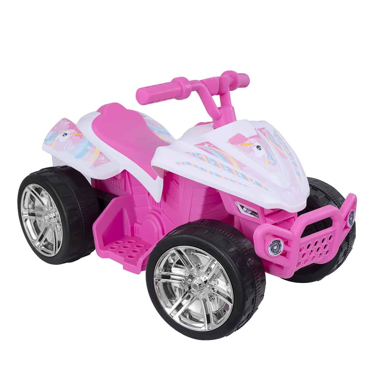 EVO - Electric Car - 6V Quad Pink Unicorn (1437560)